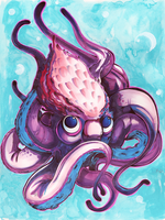 An Octopod by LittleMeesh