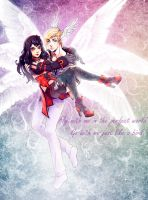 Fly with me in the perfect world by Shiro-Naruto