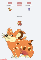 pokemon fusion by umbrulla