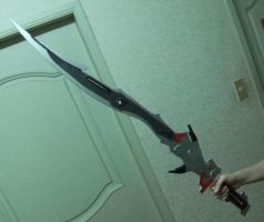 Lightning's Sword from FFXIII by witeshade