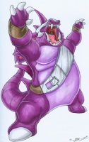 Nidoking by tarkheki