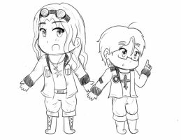 Annie and Aiden/Andrew by JackXAngelicaforever