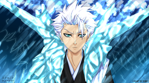 Toshiro Hitsugaya Colored by Egenysh