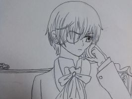 Ciel Phantomhive by Vegetafangirl13