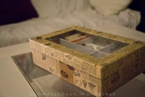 Recycled Lexicon Tea-Box II by Costumy