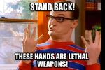 Artie's Lethal Hands! by Amphitrite7