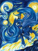 Luna's Starry Night by Muffyn-Man