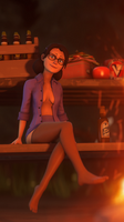 Miss Pauling by Kunoichi221