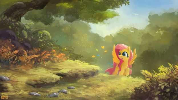 Simply Fluttershy by aJVL