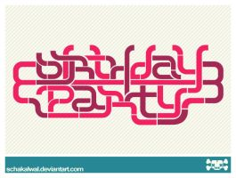 Logo Birthday Party by schakalwal