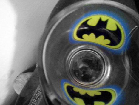 Batman Shotglass by HelloKittyNya