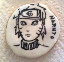 Naruto cookie B/W by Bluesoul1