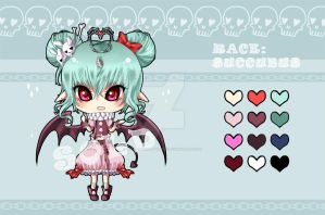 [CLOSED] Adoptable Succubus No.2 by luffableadoptable