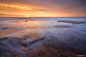 Slangkop Sunset by hougaard