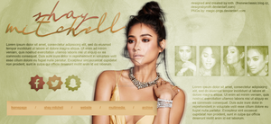 SHAY MITCHELL FREE HEADER by designsbyroth