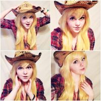 Applejack cosplay by KayhoEsoxn
