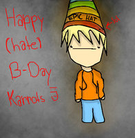 Happy late Birthday Karrots ._. by iFrape