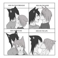 Cute kiss meme by papuzka