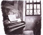 Piano studio by NataliaFerrino