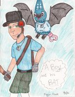 BLU Scout and Swoobat by FlygonPirate