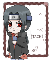 Naruto: Chibi Itachi by The-PirateQueen