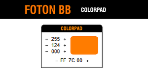 Foton BB: Colorpad by theconcept