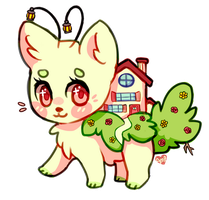 Rose Cottage (adoptable species?) by Amphany