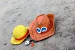 Ace n Luffy 's hat by MonicaWos