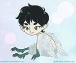 Baby Harpy by Jackie-lyn