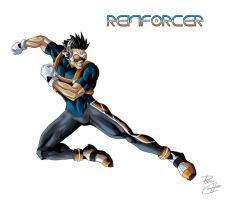 Reinforcer OC by phil-cho