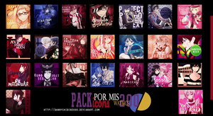 Pack Icons Por mis 2OO watchs by DannyRyouta