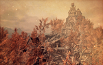 Whiterun in fall. by Lunaisty
