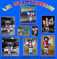 Lil' Starscream by southernstingray