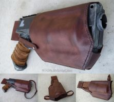 Nerf Maverick Custom Leather Holster by M1K3RU