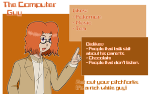 A Computer Guy profile by TheBlackBullets