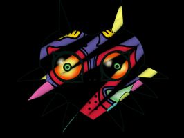 Majora's mask 1st Background by tdal12