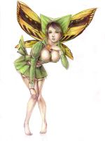 Poisonous fairy by Andette