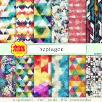 Geometry Digital Paper Pack dsg028 by daisyanderson