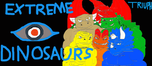 Extreme Dinosaurs triumph tribute to the jacksons by reg92
