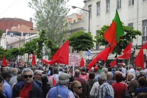 1st of May Manif by SaberNiphon