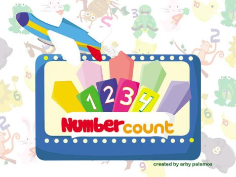 NumberCount Wallpaper by arby11