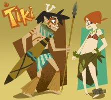 - tiki pan - by porkbun