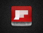 Jaku ''flipping'' FlipBoard icon by babil0n