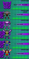 Decepticons Updated[10-18-12][Pixel Heroes] by THX1138666
