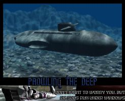 Prowling The Deep by moonwolf-95