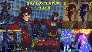 Guy cosplaying flash by salimano3