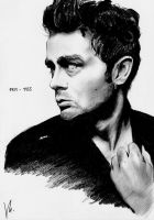 James Dean - Tribute by b3ngi