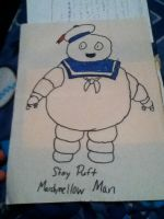 The Stay Puff Marshmellow Man by Byo2010
