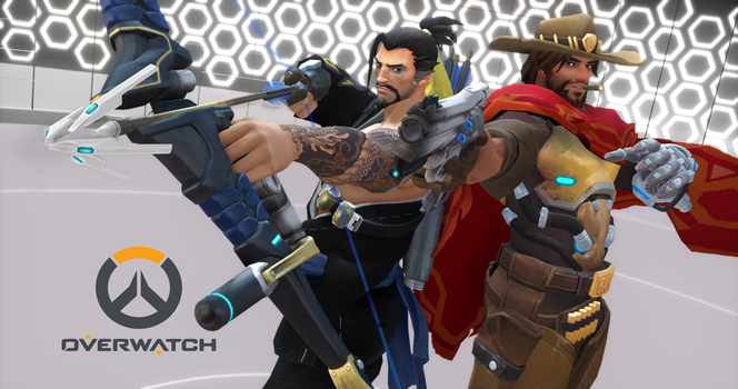 MMDxOverwatch - McHanzo [FREE 2K Wallpaper DL] by strawberryjammer