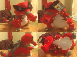 Custom Krookodile Plush by PokeLoveroftheWorld